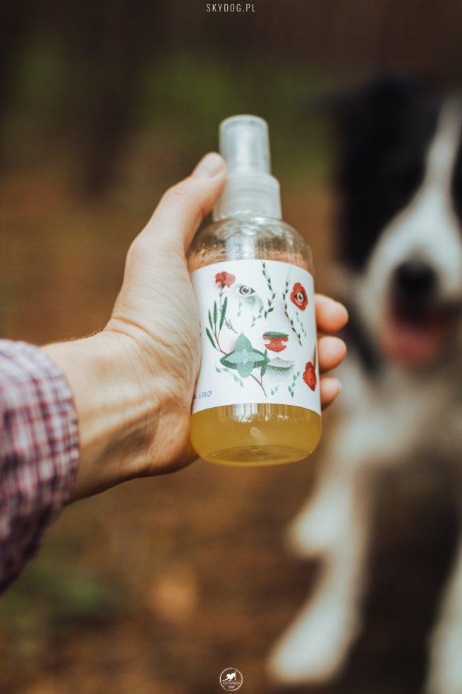 Naturalny olejek przeciw komarom i kleszczom dla psów POSITIVECARE